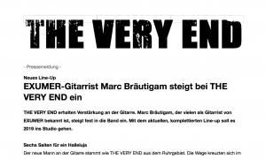 Pressemeldung-Exumer-Gitarrist-Marc-Bräutigam-steigt-bei-The-Very-End-ein-Vorschau