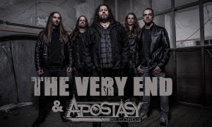 The-Very-End-Sign-with-Apostasy-Records-Landscape-PhotoByTomRow-FrontrowImages+Logos