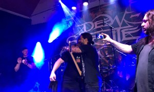TVE supported Dew Scented at their very last show