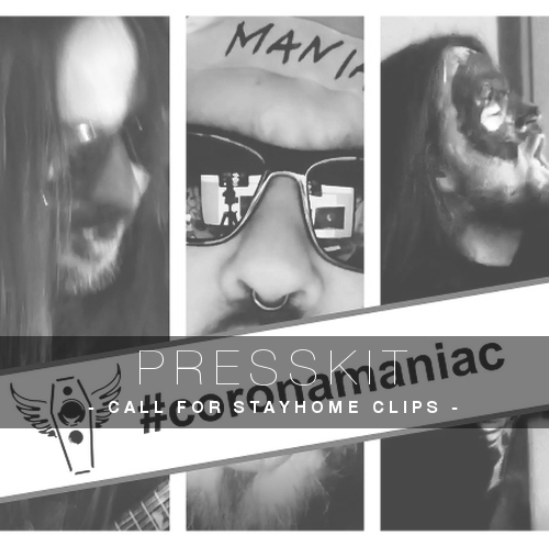 CoronaManiac-Calling-For-StayHome-Clips-presskit