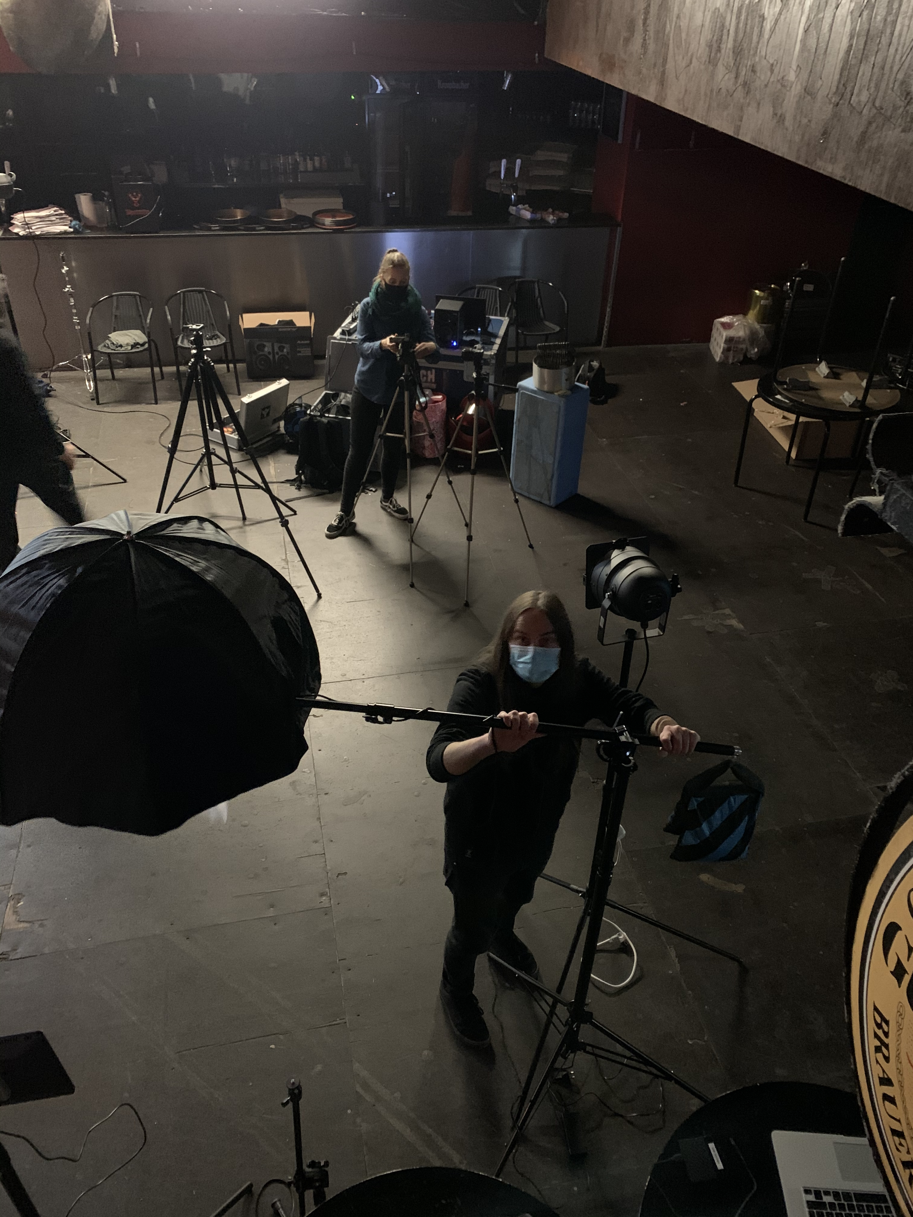 The Very End Video Shoot Behind the scenes